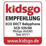 kidsgo Babyphone Empfehlung - Philips AVENT SCD 535